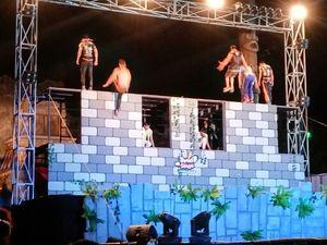 Meriah! Sirkus Tiongkok di Trans Studio Makassar