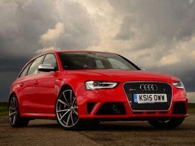 Audi RS4 Terbaru Pakai Turbo Listrik