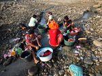 Kemarau, Air Sungai Cipamingkis Mengering