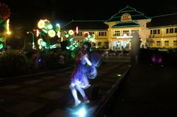 Cantiknya Kota Malang di Malam Hari