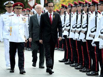Jokowi Kunjungan Kenegaraan ke Singapura