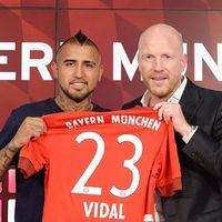 Bayern Resmi Datangkan Vidal