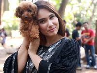 Reaksi Feby Febiola Disinggung Jodoh Gara-gara Anjing