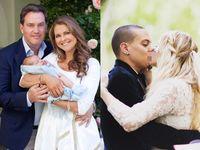 Putri Swedia Ungkap Foto sang Putra, Romantisnya Foto Pernikahan Ashlee Simpson