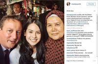 Selfie di Pasar dengan Maudy Ayunda, PM Cameron Hebohkan Inggris
