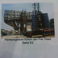 Dampak 69 Tiang Beton Retak, Proyek Tol Akses Tanjung Priok Molor