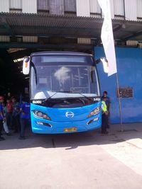 Ini Penampakan Bus Bantuan Pemerintah yang Dijajal Jonan