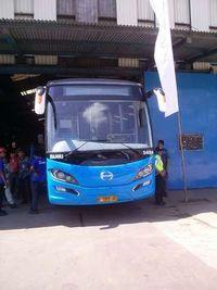 78 Unit Bus Made in Ungaran Ini Siap Mengaspal di Jakarta