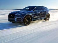 Melihat Pengujian Mobil Jaguar F-Pace
