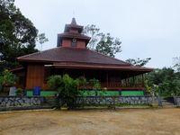 Wisata Religi di Bangka, Ada Masjid Unik 100% dari Kayu