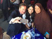 Bertemu PM Inggris, Apa Saja yang Dibicarakan Maudy Ayunda?