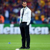 Cedera, Chiellini Absen di Piala Super Italia