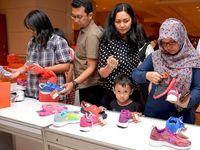 50% Bahan Baku Sepatu Nike made in Balaraja Dari Impor