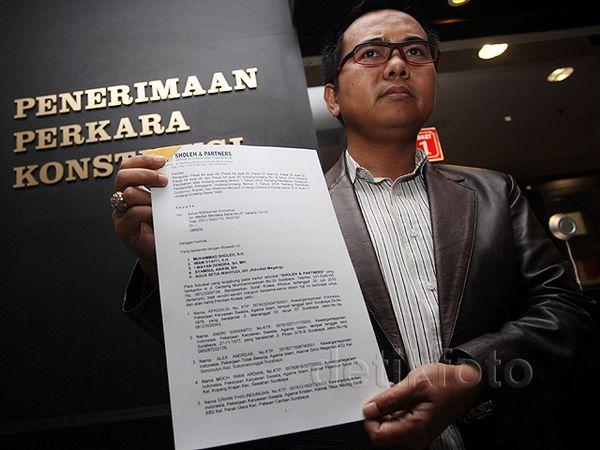 Warga Surabaya Gugat UU Pilkada ke MK