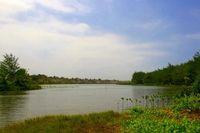 Terpesona Laguna Indah di Pantai Lembupurwo, Kebumen