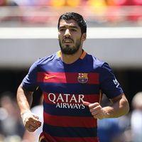 Suarez Masih Jadi Bayang-bayang Messi dan Neymar di Barca