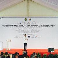 Resmikan Mega Proyek Gas, Jokowi: Kekayaan Alam Harus Diolah di RI