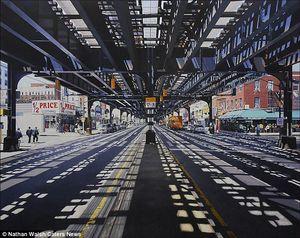 Keren, Lukisan Perkotaan Ini Sangat Mirip Foto