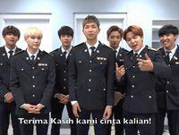 Bangtan Boys Sapa Fans Lewat Video Jelang Fanmeeting di Jakarta