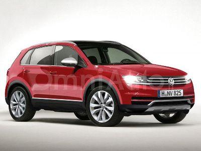 VW Tiguan Versi Terbaru Lebih Mirip Baby Touareg?