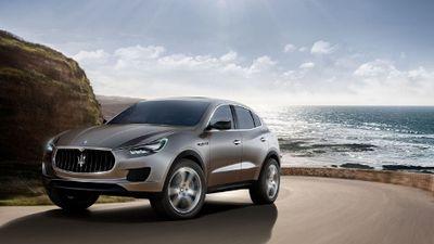 Maserati Bertaruh Besar pada SUV Levante