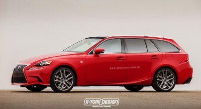 Begini Bentuknya Kalau Lexus IS Jadi Sportwagon