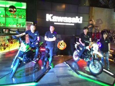 Resmi, Kawasaki Luncurkan D-Tracker Terbaru