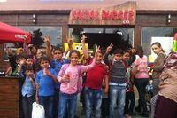 Di Palestina Ada Restoran Krabby Patty Ala Spongebob