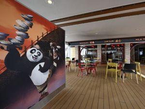 Kapal Pesiar Mewah Ini Hadirkan Restoran Bertema Kung Fu Panda