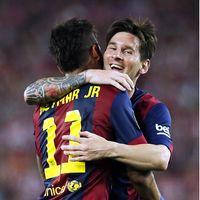 Barcelona Kalah Lagi, Suarez Merindukan Messi-Neymar