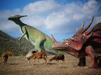 Melihat Dinosaurus Jadi-jadian di Kuba