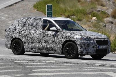 Diluncurkan 2016, BMW X1 Versi Plug-in Hybrid Jalani Pengujian