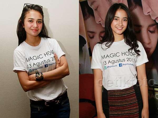 Siapa Lebih Manis, Michelle Ziudith atau Nadya Arina?