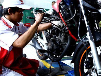 Rayakan Kemerdekaan RI, Jasa Servis Motor Honda Diskon 17 Persen