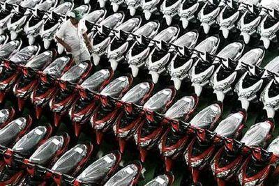 Penjualan Motor Sepanjang Juli Anjlok 25,4 Persen