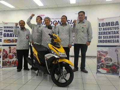 Sambut Kemerdekaan Republik Indonesia, Yamaha Gelar Diskon