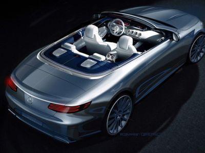 Diluncurkan September Nanti, Ini Rendering Mercy S-Class Cabriolet Terbaru