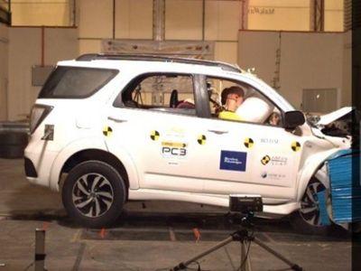 Uji Tabrak, Toyota Rush Anyar Raih 4 Bintang