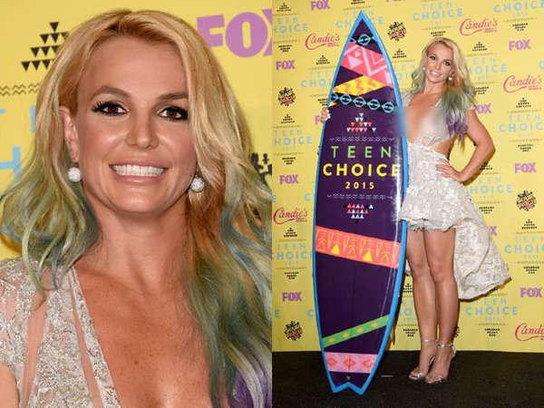 Britney Spears Raih Style Icon di Teen Choice Awards 2015