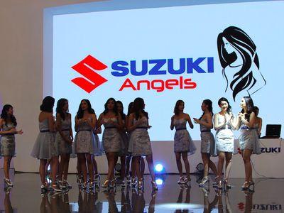 Begini Cara Suzuki Hangatkan Suasana GIIAS di Malam Hari