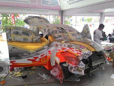 Datsun GO Panca Dimodifikasi Langsung Selama 7 Hari Berturut-turut
