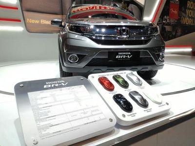 Honda BR-V Jadi Daya Tarik Baru IIMS 2015