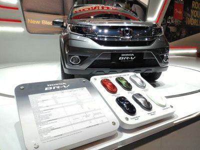Wah, Ratusan Honda BR-V Terpesan di IIMS 2015