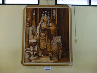 Lukisan Prabu Siliwangi Bisa Melirik di Keraton Cirebon