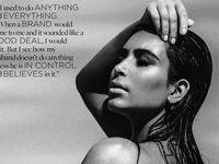 Hamil, Kim Kardashian <i>Topless</i> (Lagi) untuk Pemotretan Majalah