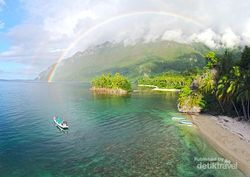 Dahsyat! Begini Cantiknya Indonesia Dilihat dari Drone
