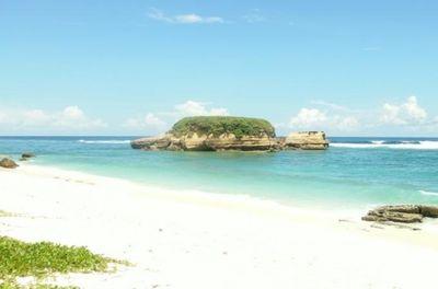 Pantai di Lombok Ini Punya Karang Berbentuk Penyu