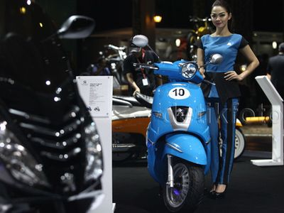 Priitt, 300 Unit Peugeot Scooters Sudah Terjual