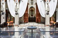 Tembok Emas Sampai Bioskop Bawah Tanah, Begini Mewahnya Hotel Raja di Maroko