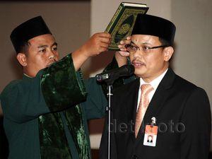 Guntur Hamzah Jadi Sekjen MK